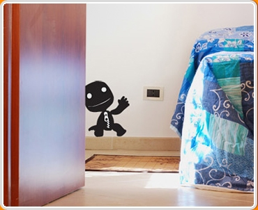 Sack Boy Wall Sticker