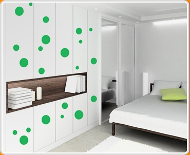 Spots and Dots Set Wall Sticker
