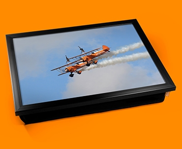 Stearman x2 Boeing Plane Cushion Lap Tray