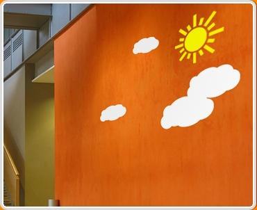 Sun Wall Sticker