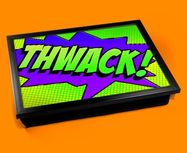 Thwack Comic Lap Tray