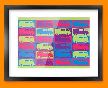 VW 1 Framed Print