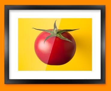 Yellow Tomato Framed Print