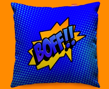 Comic BOFF Funky Sofa Cushion 45x45cm