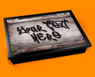 Personalised Custom Graffiti Shed Lap Tray