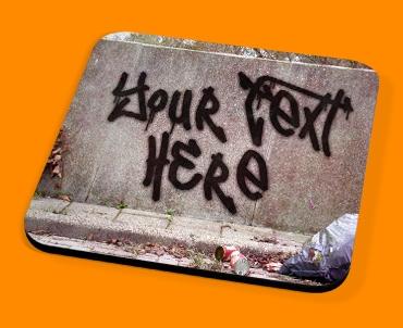 Custom Graffiti Wall Drinks Coaster