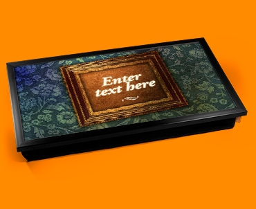 Personalised Custom Heart Warmer Phrase Laptop Tray