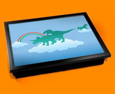 Dino Heaven Cushion Lap Tray