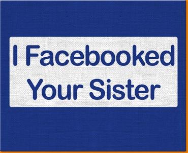 Facebook Sister Canvas Art Print