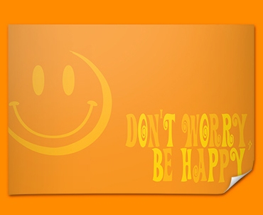 Be Happy Poster