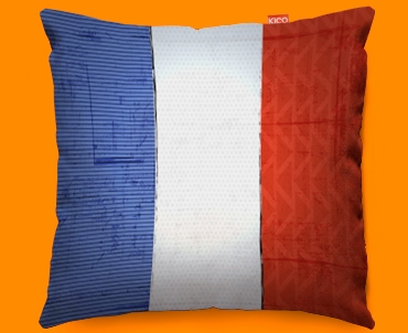 France Flag Cushion 45x45cm