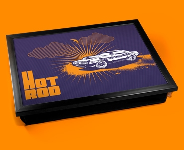Hot Rod Cushion Lap Tray