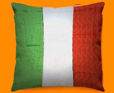 Italy Flag Cushion 45x45cm