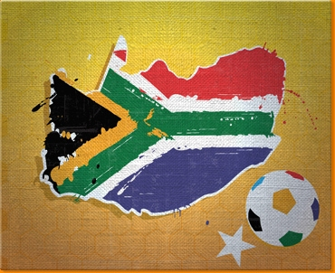 South Africa 2010 Canvas Art Print