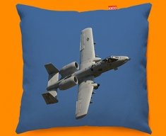 A 10 Thunderbolt Fairchild Republic Plane Sofa Cushion