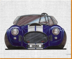 AC Cobra Canvas Art Print