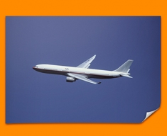 Airbus A330 Plane Poster