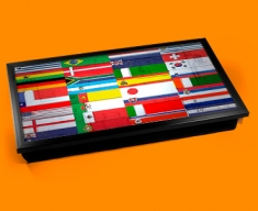 All Flags Laptop Lap Tray