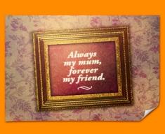 Always my Mum Heart Warmer Poster