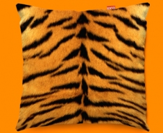 Animal Skin Tiger Funky Sofa Cushion 45x45cm