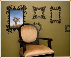 Antique Frames Wall Sticker