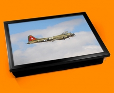 B 17 Flying Fortress Boeing Plane Cushion Lap Tray