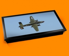 B 25 Mitchell North American Aviation Plane Cushion Laptop Tray
