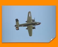 B 25 Mitchell North American Aviation Plane Poster