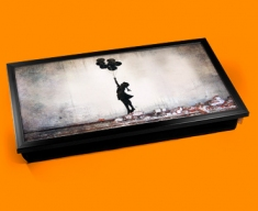 Banksy Balloons Laptop Tray