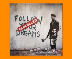Banksy Dreams Cancelled Napkins (Set of 4)