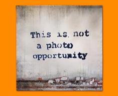 Banksy Photo Opportunity Napkins (Set of 4)