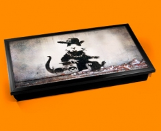 Banksy Rap Rat Laptop Tray