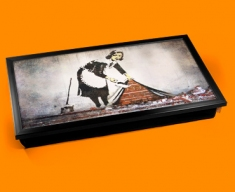 Banksy Street Maid Laptop Tray