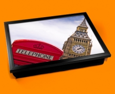 Big Ben Phone Box Cushion Lap Tray