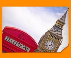 Big Ben Phone Box Poster