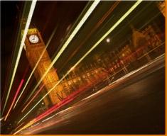 Big Ben Traffic Canvas Art Print