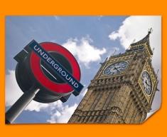 Big Ben Underground Poster