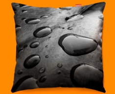 Black Water Funky Sofa Cushion 45x45cm