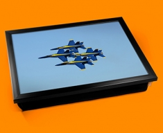 Blue Angels Plane Cushion Lap Tray