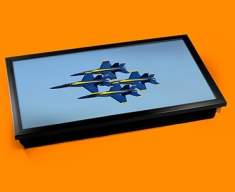Blue Angels Plane Cushion Laptop Tray
