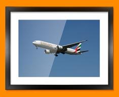 Boeing 777 Plane Framed Print
