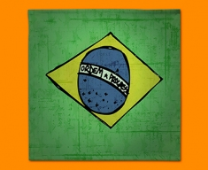 Brazil Flag Napkins (Set of 4)