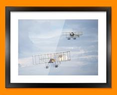 Bristol Boxkite and Avro Triplane Plane Framed Print
