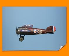 Bristol M1C Plane Poster
