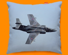 Buccaneer Blackburn Plane Sofa Cushion