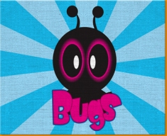 Bugs Canvas Art Print
