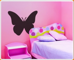 Butterfly Chalkboard Wall Sticker