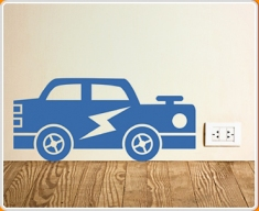 Car Supersize Wall Sticker