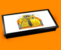 Caterpiller Bulldozer Laptop Lap Tray