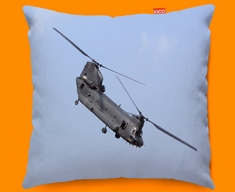 Chinook Boeing Plane Sofa Cushion